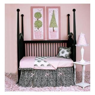 Sweet Jojo Designs Rileys Roses Crib Bedding Collection