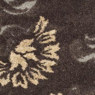 Safavieh Florida Shag Dark Brown/Smoke Rug   SG463 2879