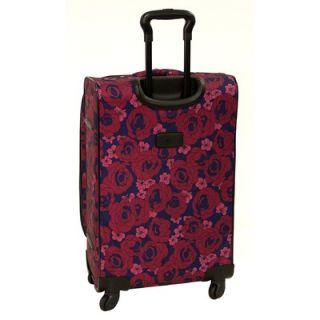 American Flyer Red Rose 5 Piece Spinner Luggage Set   88800 5 RED