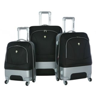 Olympia Majestic 3 Piece Expandable Luggage Set   HF 7300 3
