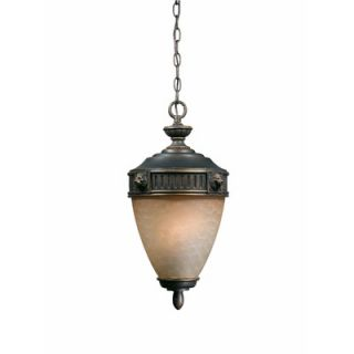 Triarch Lighting Lion Exterior Outdoor Pendant in Oil Rubbed Bronze