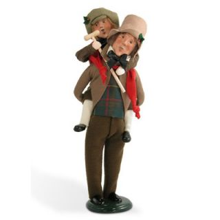 Byers Choice Bob Cratchit and Tiny Tim Figurine   209