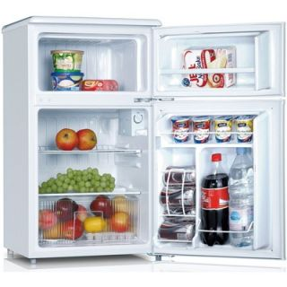 Keystone Compact 2 Door Refrigerator/Freezer   KSTRC312AW