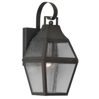 Livex Lighting Augusta Outdoor Wall Lantern in Bronze   2080 07
