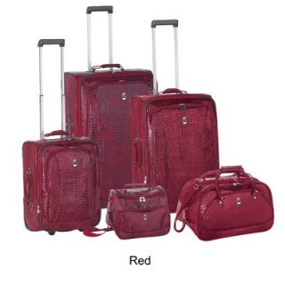 Travel Concepts  Croco 5 Piece Luggage Set