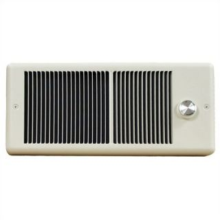 Low Profile Double   Pole 240v Fan Forced Wall Heater w/ Wall Box