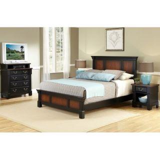 Home Styles Aspen 3 Piece Headboard Bedroom Collection