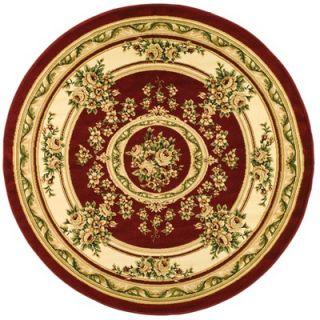 Safavieh Lyndhurst Aubusson Red/Ivory Rug   LNH218C RE