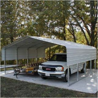 Own Diy 14x44 Portable Carport Shelter Garage Kit Rv Boat