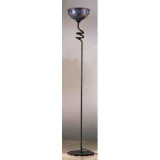 PLC Lighting Fantasia Floor Lamp in Copper   876 GREEN Copper