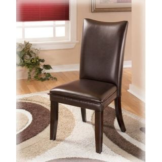 Signature Design by Ashley Colton Side Chair in Medium Brown   D357