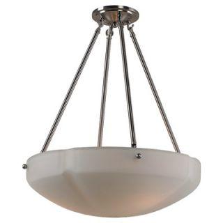 Sea Gull Lighting Century 3 Light Inverted Pendant   65474 782