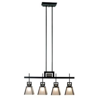 Kenroy Home Clean Slate Island Pendant in Oil Rubbed Bronze