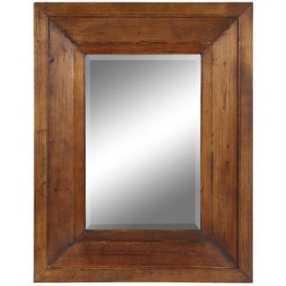 Cooper Classics Canon Mirror in Distressed Natural Rustic Wood