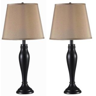 Kenroy Home Roxbury Two Pack Table Lamp in Oil Rubbed Bronze