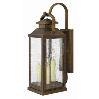 Hinkley Lighting Revere Outdoor Wall Lantern in Sienna   1180SN