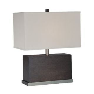 Lite Source Findlay Table Lamp in Dark Walnut   LS 21244
