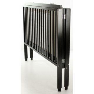 Dream On Me Folding Full Size Crib, Black
