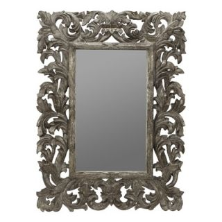 Cooper Classics Tara Wall Mirror in Distressed Silver Crackle   4916
