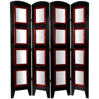 Oriental Furniture Decorative Photo Display Room Divider in Black