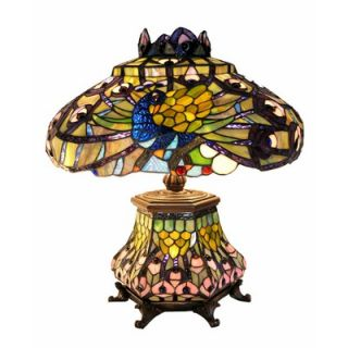 Warehouse of Tiffany Peacock Lantern Table Lamp   2954#LSH