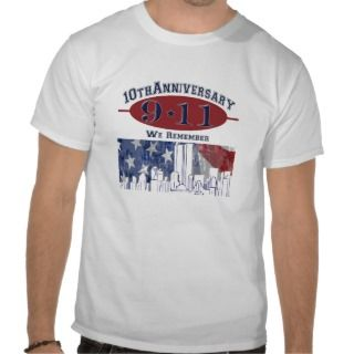 11 10th Anniversary Commemorative Tee Shirt