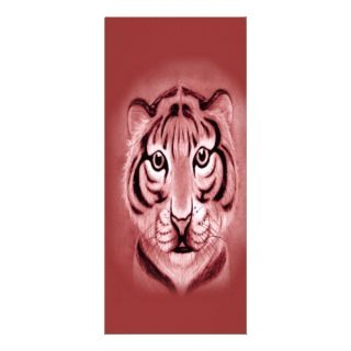 Baby Tiger Cub* portrait Design Rack Card Template