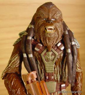 Star Wars Wookie Warrior Tarful Chewbacca Figure with Cross Bow Loose