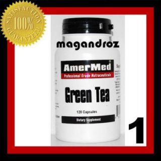 1x Green Tea Extract 600mg 120 Caps Weight Loss Pill