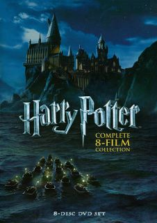 Harry Potter Complete 8 Film Collection DVD 2011 8 Disc Set NEW