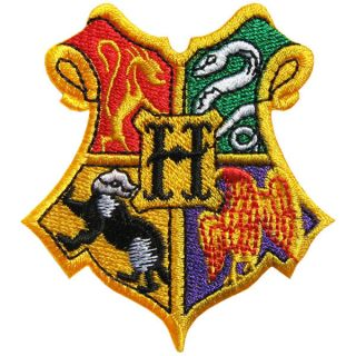 FA10 Harry Potter Hogwarts School Crest Iron on Patch