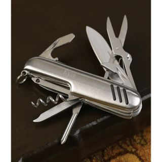 Multi Function Swiss Style Knife 11 Blades Groomsmen Gift