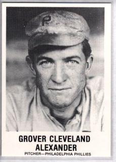 Grover Cleveland Alexander 1981 TCMA Renata Galasso 153