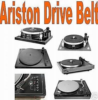 ariston turntable drive belt cleaning pad time left