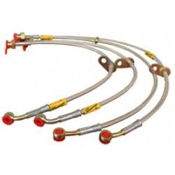 Goodridge 38002R SS Brake Line Kit Volvo S60 03 06