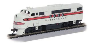 HO California Zephyr Passenger Train CB Q Set s 1