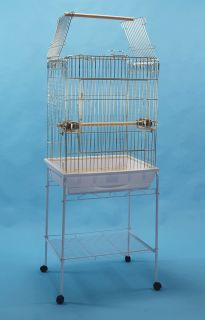 New Parrot Bird Cage Playtop 25 x 21 x 69H  Conure African Grey