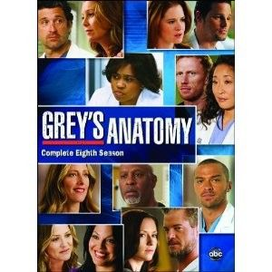 Greys Anatomy Complete Eighth Season 8 Eight New DVD