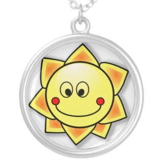 Sunshine Cartoon Necklace