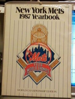 New York Mets Official Yearbook  WORLD CHAMP EDITION~STRAWBERRY~GOODEN