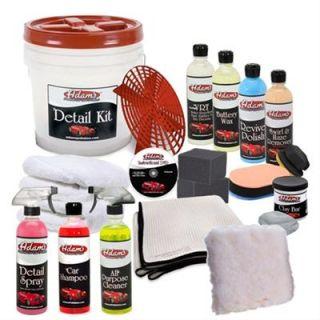 GHH Car Detail Essentials Kit Microfiber Towels Clay Bar Detail Spray