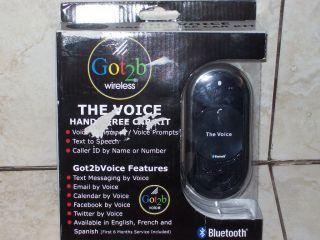 Got2b Wireless The Voice Hands Free Car Kit Bluetooth