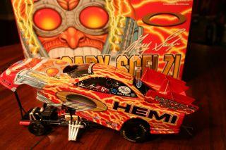 NHRA Funny Car Gary Scelzi Oakley Dodge Stratus