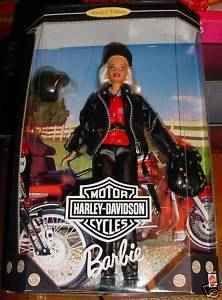 Barbie Harley Davidson Orig 1 Doll