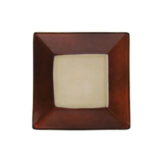 Gourmet Basics by Mikasa Camden Red Square Salad Plate