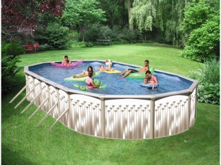Swimming Pool Package 12 x 18 x 52 Above Ground Oval