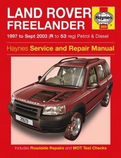 Haynes Workshop Repair Owners Manual Land Rover Freelander Petrol