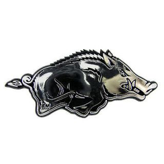 arkansas razorbacks car auto emblem decal sticker