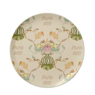 Paris 1922 dinner plaes