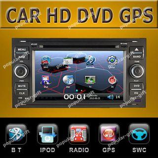 HD Car DVD GPS Navigation Navi Radio for Ford Focus C Max Galaxy